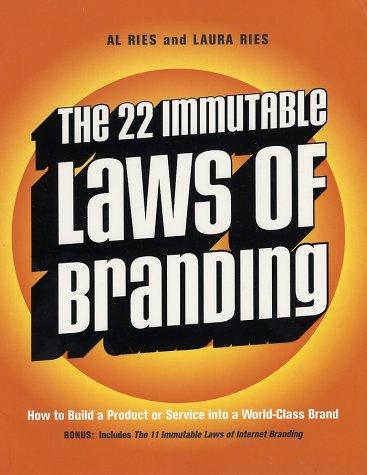 The 22 Immutable Laws of Branding - imagem: bookcloseouts.com