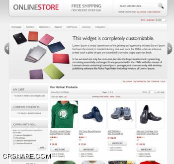 Tema Magento - imagem: worldsharing.biz