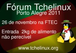 Tchelinux Porto Alegre 2011 - imagem: tchelinux.org