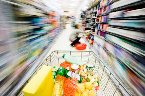 carrinho de compras - imagem: Don Bayley - Getty Images