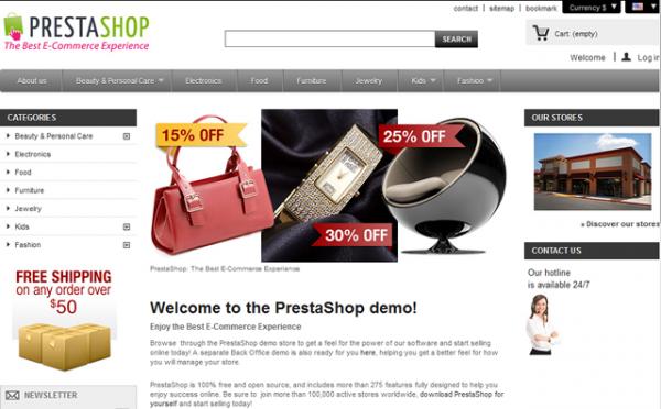 PrestaShop - imagem: Ahead Works
