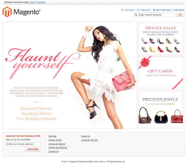 Magento Enterprise Edition - imagem: André Gugliotti