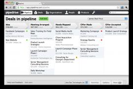 Sugestão de software de CRM: Pipedrive