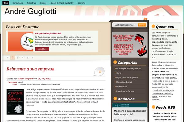 blog sobre Magento - imagem: andregugliotti.com.br