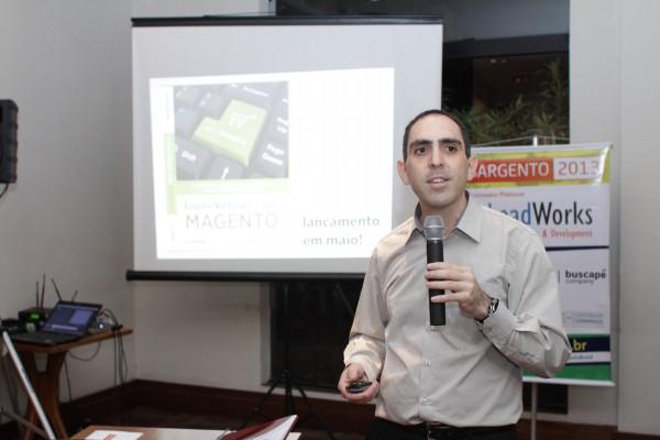 """lançamento do livro """"Lojas Virtuais com Magento"""" - imagem: Janebro Fotografia"""