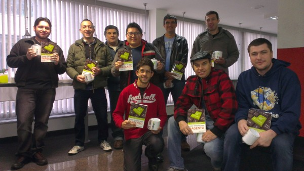 Alunos do curso de Temas em Magento em São Paulo - imagem: Gugliotti Consulting