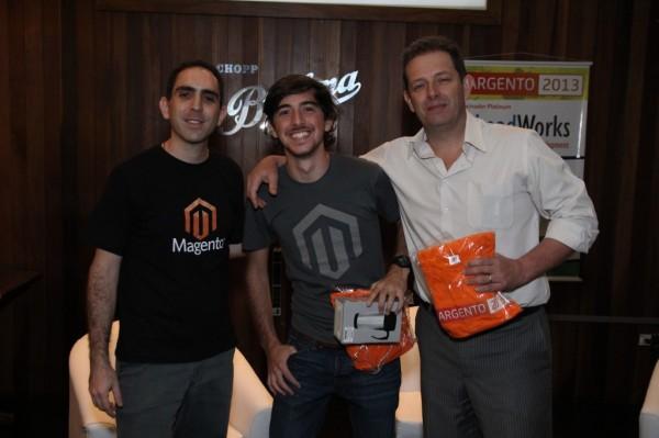 André Gugliotti, Denis Flosi e Alexandre Bertão no Bargento São Paulo 2013 Bis - imagem: Janebro Foto e Vídeo