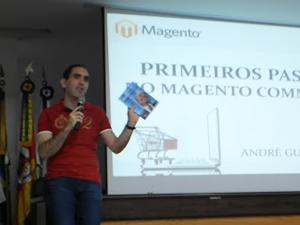 palestra de Magento no Tchelinux - imagem: divulgação