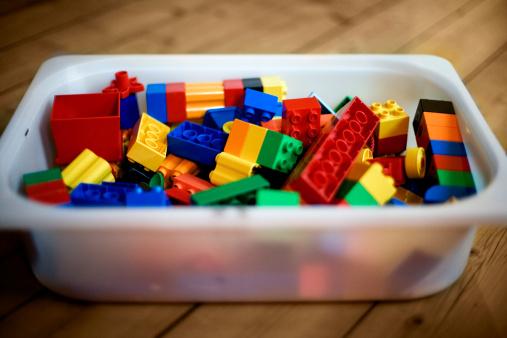 peças de Lego - imagem: L. Ancheles/Getty Images