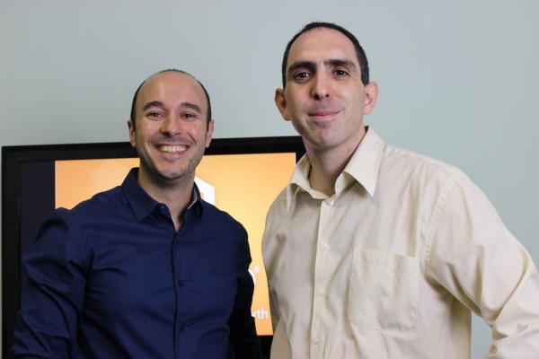 Marcio Eugenio, DLoja Virtual, e André Gugliotti, no Cecompe - imagem: divulgação
