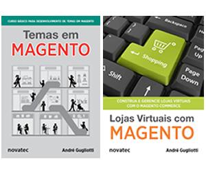 Livros de Magento, por André Gugliotti