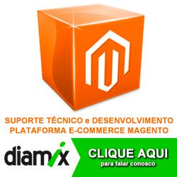 Diamix, lojas em Magento