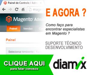 Diamix, lojas virtuais em Magento