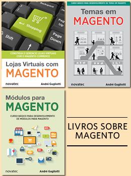 Livros sobre Magento, por André Gugliotti