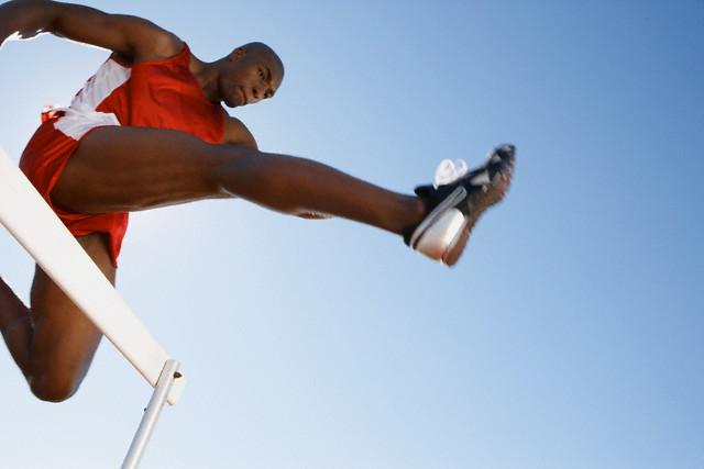 Vencendo obstáculos - imagem: Paul Bruns/Corbis
