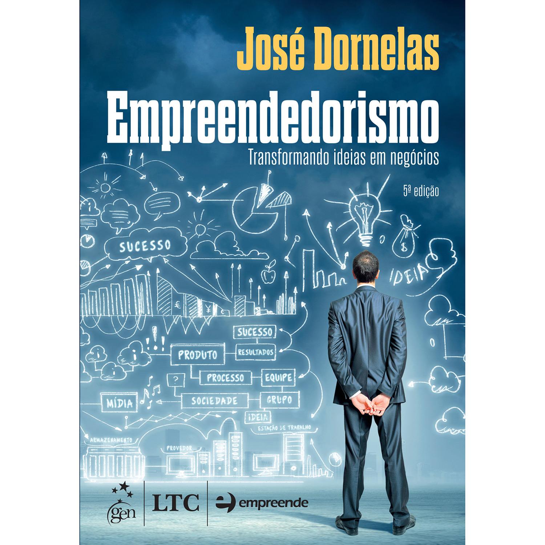 Empreendedorismo, José Dornelas - imagem: Submarino
