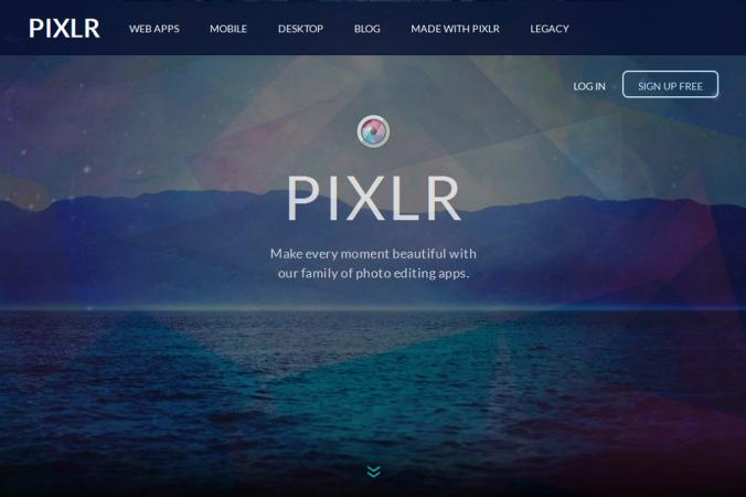 Pixlr - imagem: reprodução