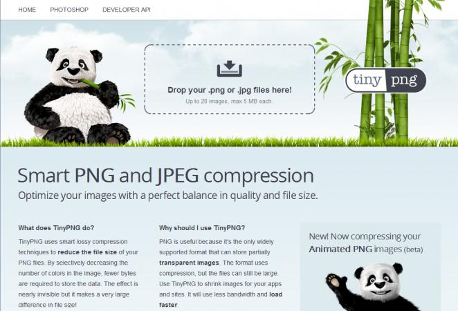 TinyPNG - imagem: reprodução